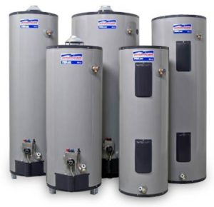 Sample water tanks for water heater installation and repair